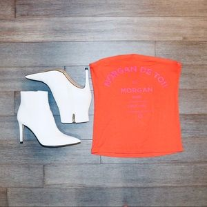 Morgan Neon Orange Top